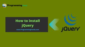 add jQuery to web pages