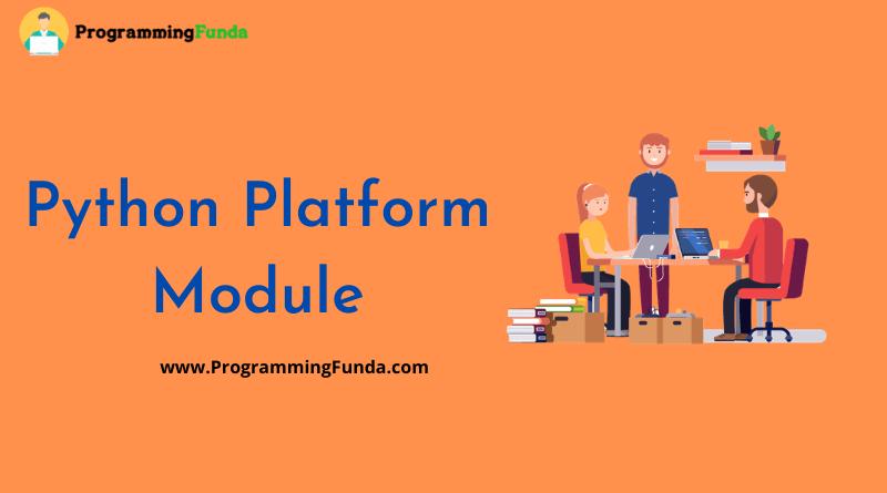 Python Platform Module