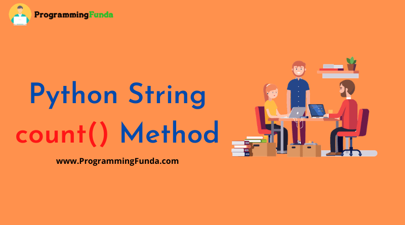 Python string count() method