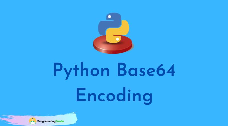 Python base64 Module