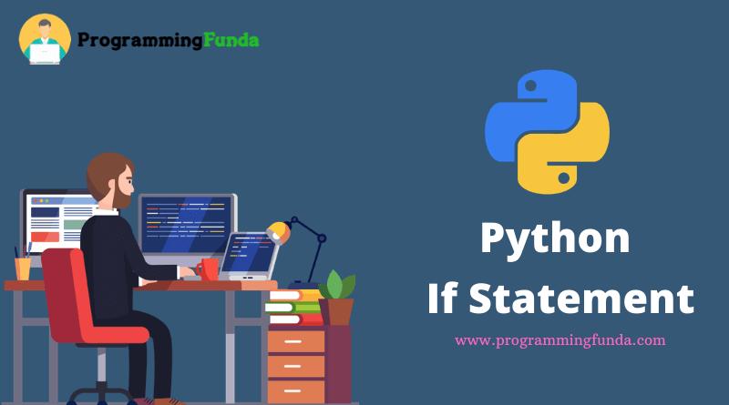 Python if else statement