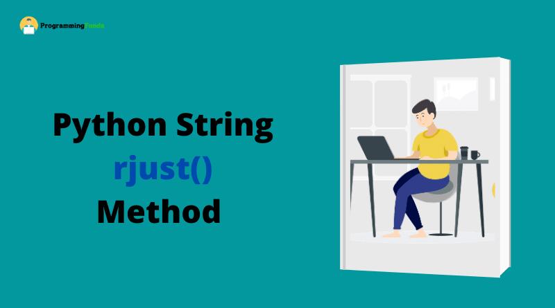 Python string rjust