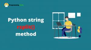 python string rsplit
