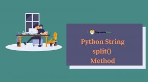Python String split