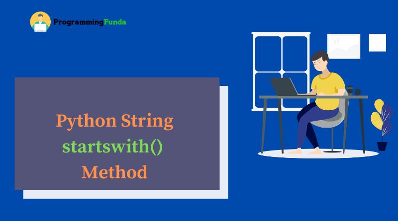 Python string startswith