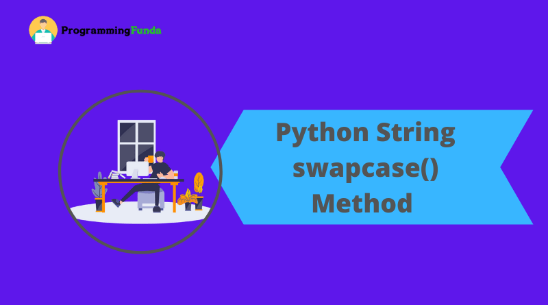 Python string swapcase