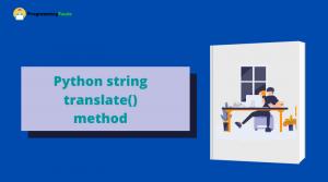 python string translate