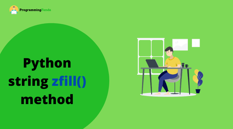 Python String zfill