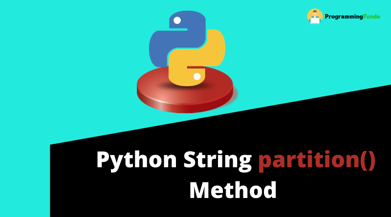 python string partition