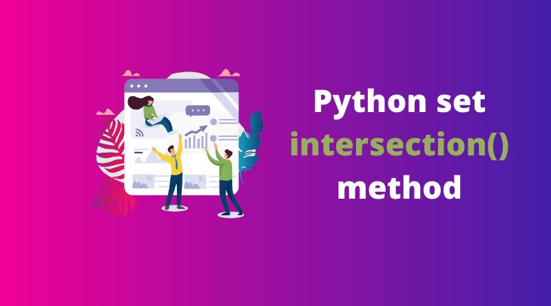 Python set intersection