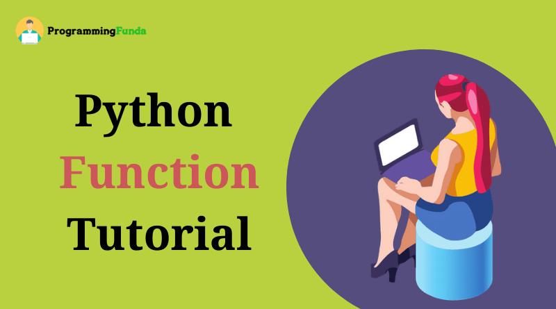 python function tutorial
