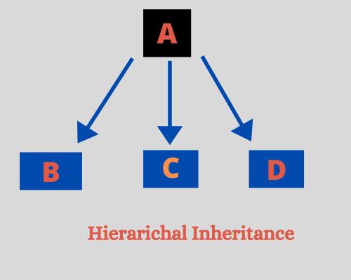 Hierarchical inheritance in Python
