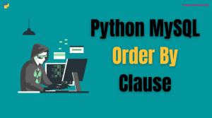 python mysql order by