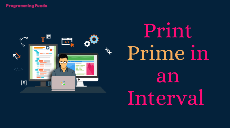 python program to print prime numbers