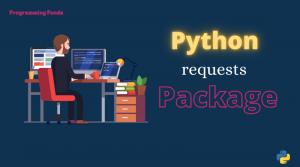 Python requests module
