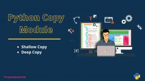 Python shallow and deep copy