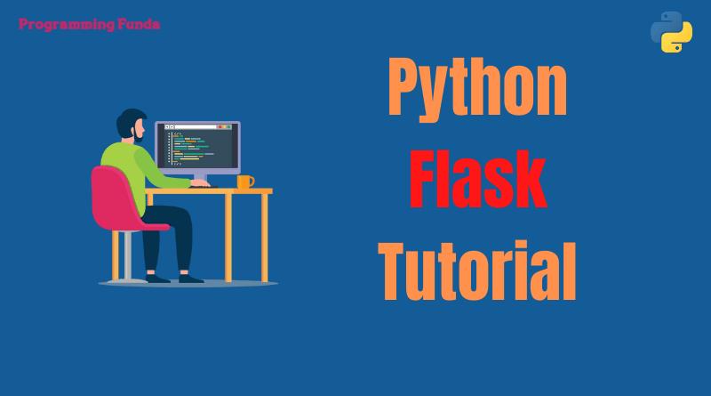 Python flask tutorial